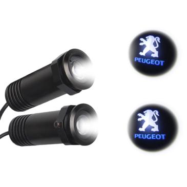 Peugeot LED Ghost Logo Projector GloboStar 98553