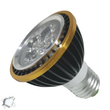 Λάμπα LED E27 PAR20 Σποτ 5W 230V 490lm 90° Ψυχρό Λευκό 6000k GloboStar 88967