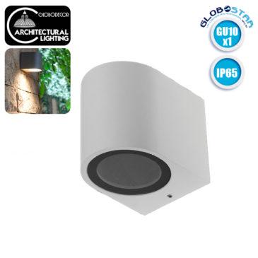 LED Φωτιστικό Τοίχου Αρχιτεκτονικού Φωτισμού Λευκό Down GU10 IP65 GloboStar 90094