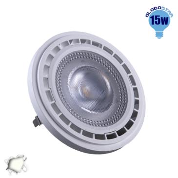 Λαμπτήρας LED AR111 12 Μοίρες 15 Watt 230v Ημέρας GloboStar 01767