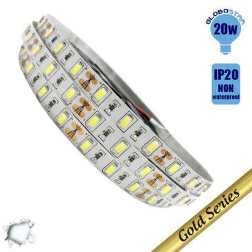 Ταινία LED 20 Watt 12 Volt Ψυχρό Λευκό IP20 Υπερυψηλής GloboStar 08250