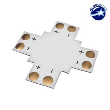 Connector + για Ταινία LED 4.8 Watt GloboStar 77447