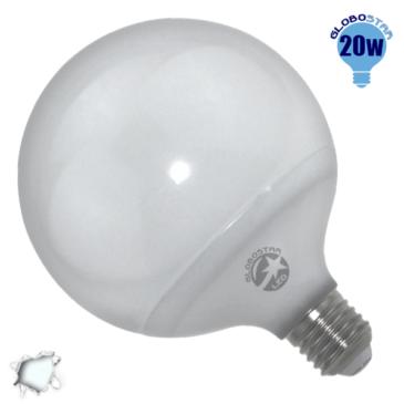 Γλόμπος LED G125 με βάση E27 20 Watt 230v Ψυχρό GloboStar 01736