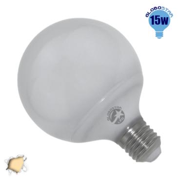 Γλόμπος LED G95 με βάση E27 15 Watt 230v Θερμό GloboStar 01735