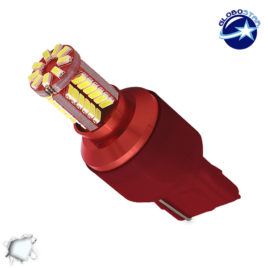 Λαμπτήρας LED T20 7440 με 57 SMD Can Bus 3014 Ψυχρό Λευκό GloboStar 88922
