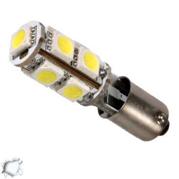 Λαμπτήρας LED Ba9s Can Bus με 9 SMD 5050 Ψυχρό Λευκό GloboStar 42000