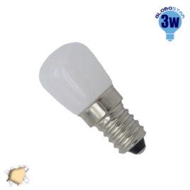 Λάμπα LED E14 Ψυγείου 3 Watt 230V 250lm 260° Θερμό Λευκό 3000k GloboStar 07732