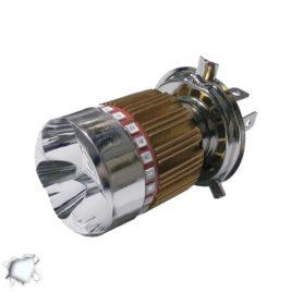 Λαμπτήρας LED Moto Βάση H4 15 Watt 6000k GloboStar 67790