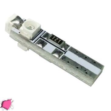 Λαμπτήρας LED Τ5 με 3 SMD 1210 Φούξια GloboStar 35651