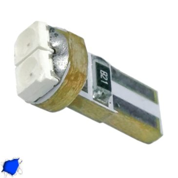 Λαμπτήρας LED T5 2 SMD 1210 Μπλε GloboStar 31141