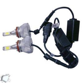 LED HID Kit H9 36 Watt 9-36 Volt DC 3600 Lumen 6000k C6 Economy Line GloboStar 06668