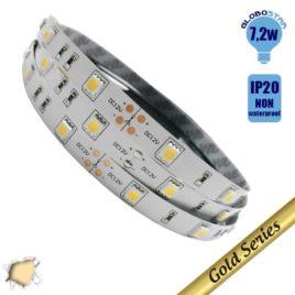 Ταινία LED 7.2 Watt 12 Volt Θερμό Λευκό IP20 GloboStar 69840