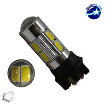 Λαμπτήρας LED PW24W Can Bus με 10 SMD 5630 Samsung Chip Ψυχρό Λευκό GloboStar 07190