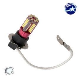 Λαμπτήρας LED H3 Can Bus με 57 SMD 4014 6000k GloboStar 40131