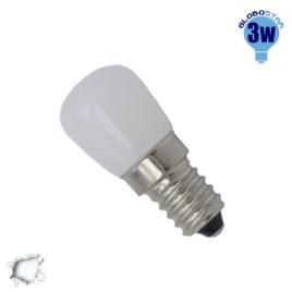 Λάμπα LED E14 Ψυγείου 3 Watt 230V 290lm 260° Ψυχρό Λευκό 6000k GloboStar 07730