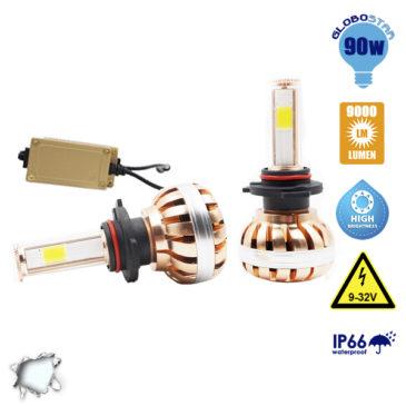 LED HID KIT H10 45 Watt 4500 Lumen 9-32 Volt DC 6000k GloboStar 99708