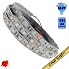 Ταινία LED 14.4 Watt 12 Volt Κόκκινο IP20 GloboStar 14240