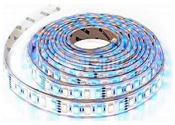 LED Ταινία 9W 60 smd 5050 Led/m RGB + Θερμό Λευκό 3000Κ(2553)