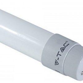 LED Τύπου Φθορισμού T8 60cm 10W Nano Plastic Non Rotation Θερμό Λευκό(6392)