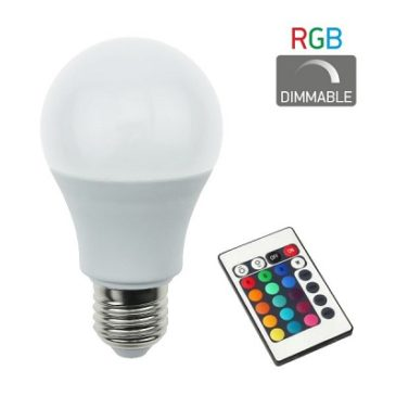 ΛΑΜΠΤΗΡAΣ LED RGB DIMMABLE E27 7.5W(dyp5377)