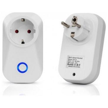 V-TAC Έξυπνη Φις- Πρίζα Επέκταση με WiFi Συμβατή με Amazon Alexa και Google Home 8415