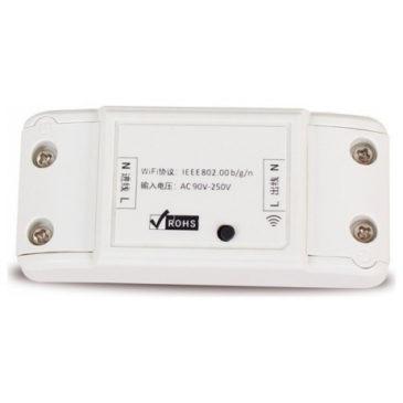 V-TAC Έξυπνος on line Διακόπτης Λευκός με σύνδεση WiFi Συμβατός με Amazon Alexa και Google Home 8422 (8422)