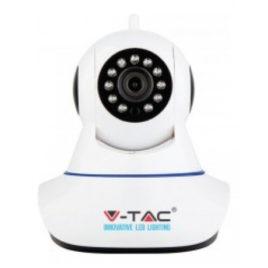V-TAC Smart Κάμερα WIFI IP με ηχείο αμφίδρομο ήχο Λευκό 8377