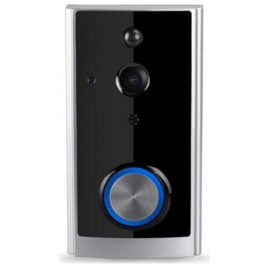 V-TAC Smart WiFi Κουδούνι- Κάμερα με αμφίδρομο ήχο Μαύρο 8355