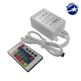 Ασύρματο Mini LED RGB Controller 72 Watt 12 Volt GloboStar 04033