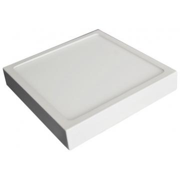 LED Εξωτερικό Πάνελ mini premium slim 12W τετράγωνο Ψυχρό Λευκό (4915)