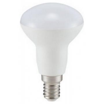 LED V-TAC Λάμπα E14 καθρέπτη SAMSUNG Chip 6W (R50) Ψυχρό Λευκό (140)