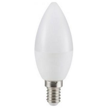 LED V-TAC Λάμπα Ε14 SAMSUNG Chip κεράκι 5.5W 470lm Ψυχρό Λευκό (173)