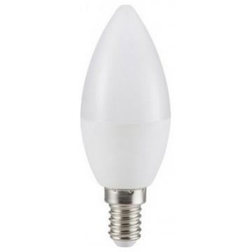 LED V-TAC Λάμπα Ε14 κεράκι 5.5W 470lm CRI 95+ Θερμό Λευκό 7494 (7494)