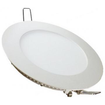 LED  Πάνελ mini slim 22W στρογγυλό Ψυχρό Λευκό (6424)