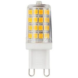 V-TAC LED Λάμπα G9 3W SAMSUNG CHIP Πλαστικό Κυλινδρικό Θερμό Λευκό (246)