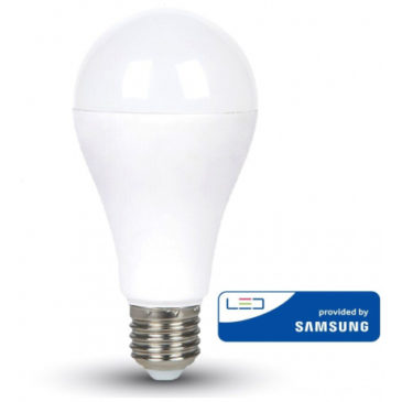 LED V-TAC Λάμπα Ε27 8.5W A60 SAMSUNG CHIP A++ Ψυχρό Λευκό 254 (254)