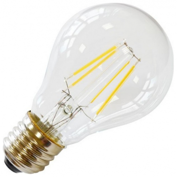 LED V-TAC Λάμπα Ε27 4W (A60) 2700K Retro Look Edison 4259 (4259)