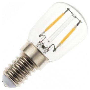 PUBLIC LED V-TAC Λάμπα Filament E14 2W ST26 Ψυχρό Λευκό 6000Κ (4446)