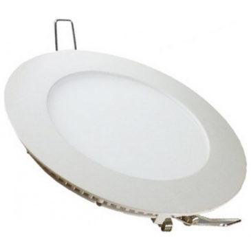 LED  Πάνελ mini premium 24W  στρογγυλό Ψυχρό Λευκό (4874)