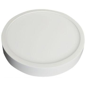 LED Εξωτερικό Πάνελ mini premium slim 12W στρογγυλό Ψυχρό Λευκό (4912)