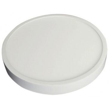 LED Εξωτερικό Πάνελ mini premium slim 18W στρογγυλό Ψυχρό Λευκό (4918)
