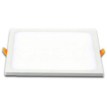 LED Πάνελ 29W Τετράγωνο Χωνευτό  Frameless Ψυχρό Λευκό (5033)