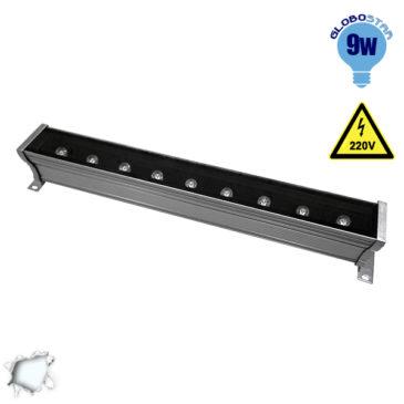 LED Wall Washer 9W 230V 900lm 30° 50cm Αδιάβροχο IP65 Ψυχρό Λευκό 6000k GloboStar 05001