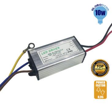 Μετασχηματιστής Προβολέα LED 10W IN 230V OUT 21-44V 0.95PF GloboStar 47853