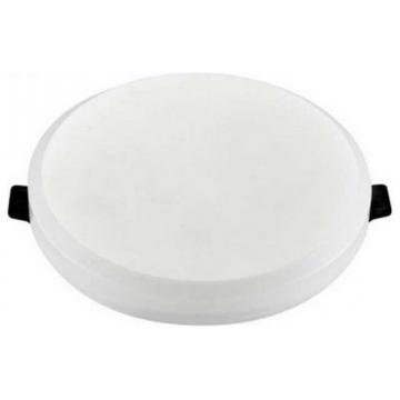 LED mini Πάνελ V-TAC 8W SAMSUNG CHIP Χωρίς Πλαίσιο Στρογγυλό 5 χρόνια εγγύηση Θερμό Λευκό (626)