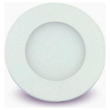 LED mini Πάνελ V-TAC 3W Λευκό Στρογγυλό Ψυχρό Λευκό (6294)