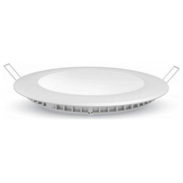 LED Πάνελ 30W Στρογγυλό Χωνευτό Ψυχρό Λευκό 6429 (6429)