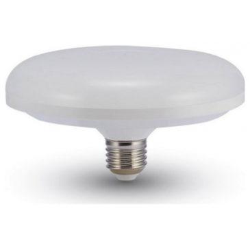 LED Λάμπα V-TAC Ε27 15W F150 UFO Οροφής Θερμό Λευκό 3000Κ 7158 (7158)