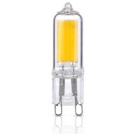 V-TAC LED Λάμπα G9  Γυάλινο 3W Θερμό Λευκό (7476)