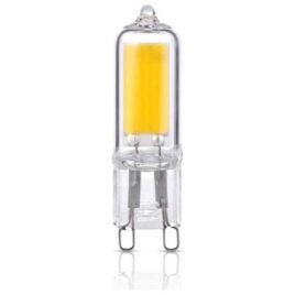V-TAC LED Λάμπα G9  Γυάλινο 4W Θερμό Λευκό (2742)